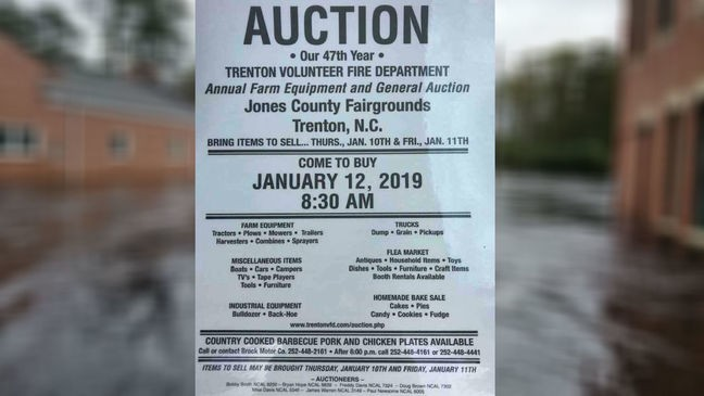 Volunteer fire department needs