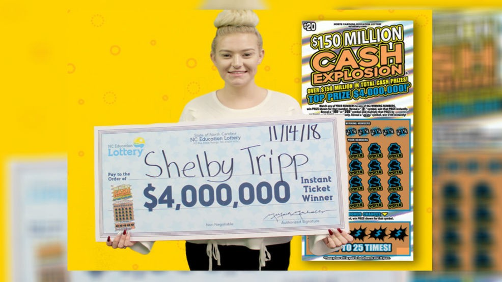 Stokes woman wins $4 million on mom's 'lucky feeling' | WCTI