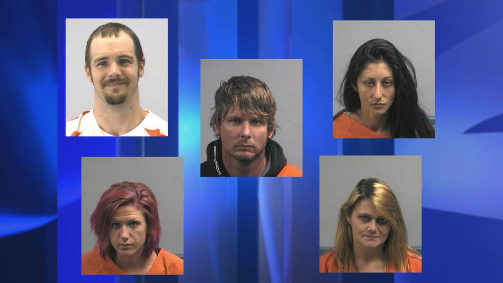 Meth bust leads to five Wayne County arrests | WCTI