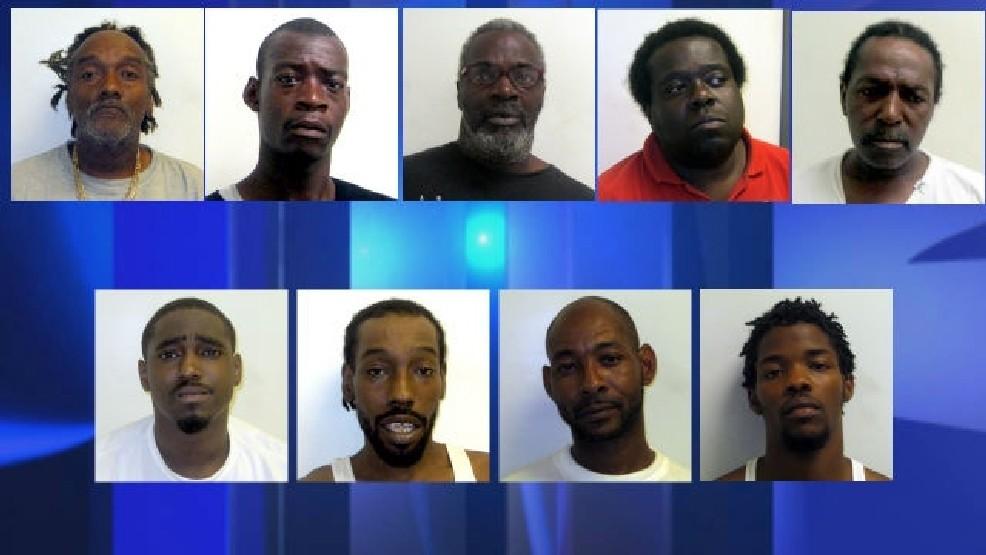 Kinston police arrest 14 in a major drug operation   WCTI