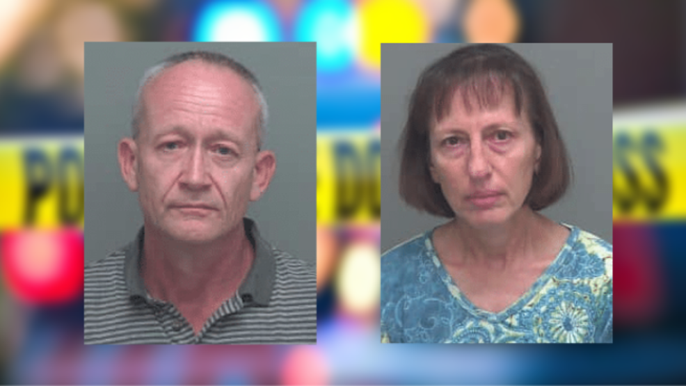 Florida 'doomsday prepper' couple charged with sexually abusing