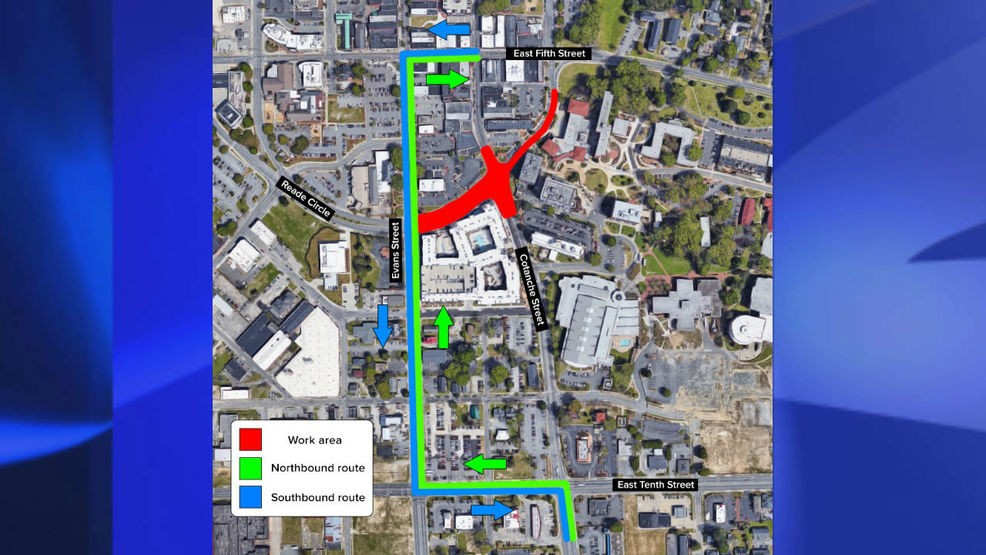 low priced f9445 321b8 Uptown Greenville street to close for three-to-four months ...