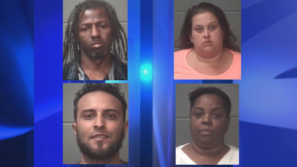 Multi-agency investigation leads to four arrests in Onslow County | WCTI