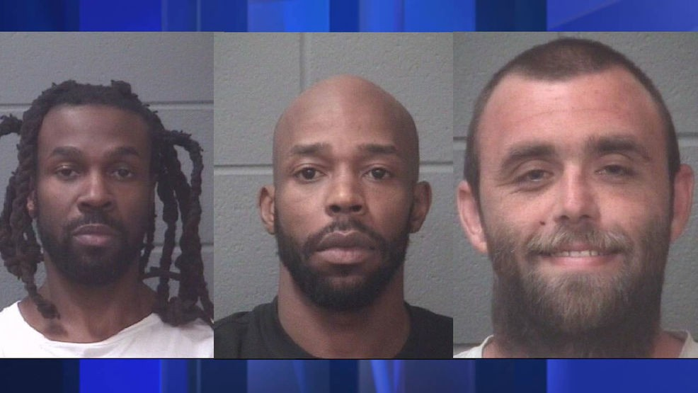 Three men arrested on drug charges in separate arrests | WCTI