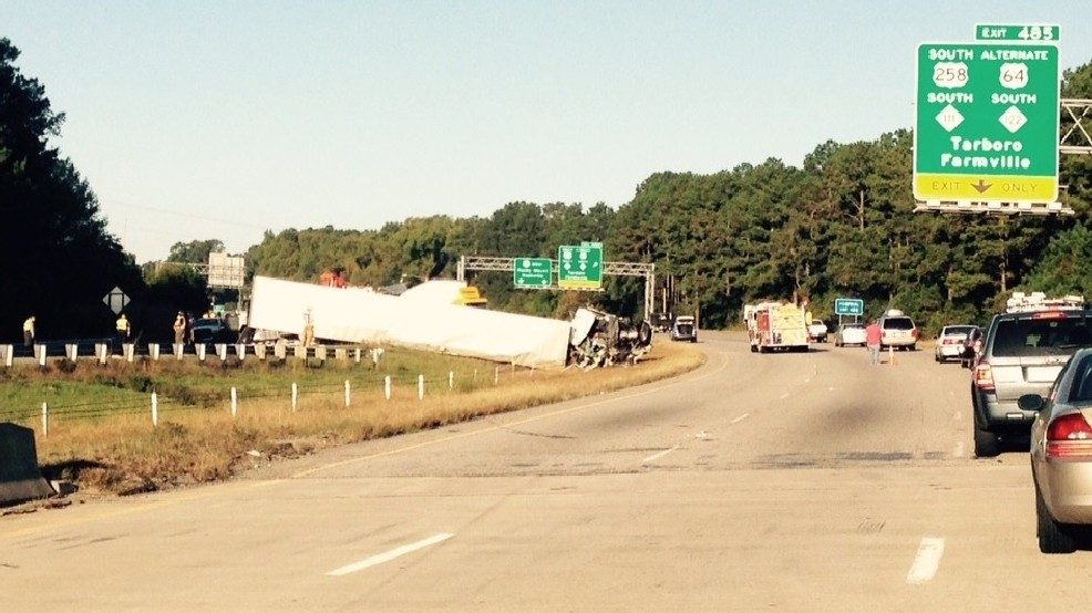 Part of Highway 64 remains closed following crash of 2 semis | WCTI
