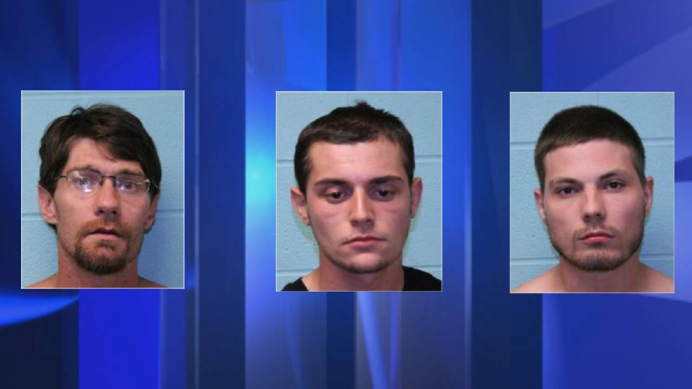 Three men arrested following string    | WCTI