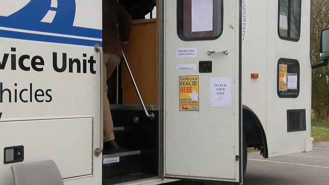 Camp Lejeune welcomes new mobile DMV office issuing REAL IDs